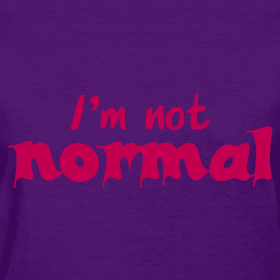 i-m-not-normal-t-shirt_design